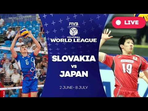 Slovakia v Japan - Group 2: 2017 FIVB Volleyball World League