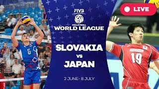 Slovakia v Japan - Group 2: 2017 FIVB Volleyball World League