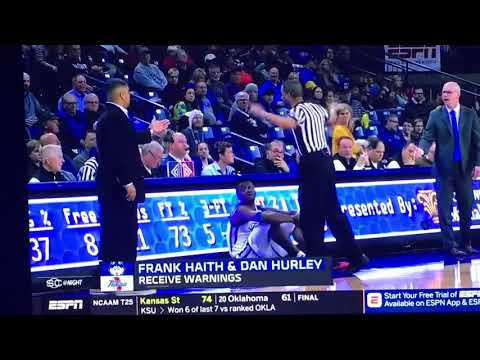 Frank Haith and Dan Hurley ejected