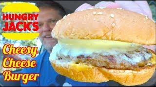 Hungry Jacks Cheesy Cheese Burger Review - Greg's Kitchen