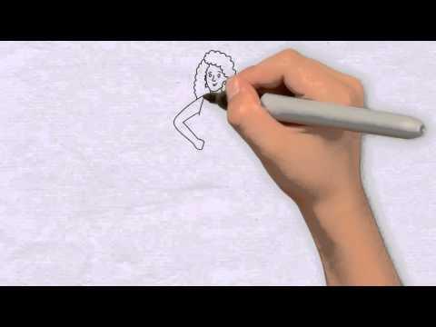 Mädchen Zeichnen in 60s – Zeichnen für anfänger & zeichnen lernen schritt für schritt
