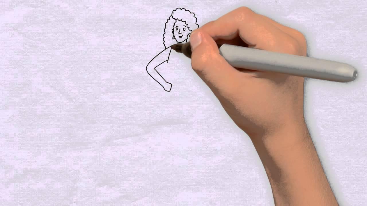 m dchen zeichnen in 80s zeichnen lernen f r anf nger kinder wie zeichnet man youtube. Black Bedroom Furniture Sets. Home Design Ideas
