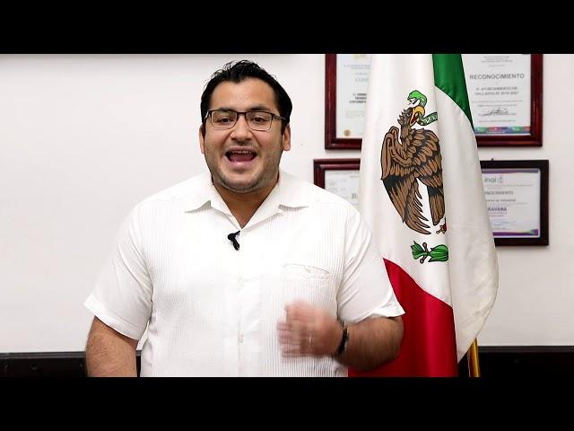 Mensaje Presidente de Valladolid Enrique Ayora 01 abril