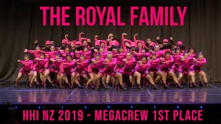 THE ROYAL FAMILY HHI NZ MEGACREW 1ST PLACE 2019