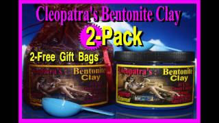 Where to Buy Bentonite Clay and Capsules, Bentonie Clay For Acne and Internal Cleanse.
