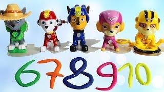 ЩЕНЯЧИЙ ПАТРУЛЬ Новые серии Развивающие мультики для детей Учимся считать до 10 Видео для малышей