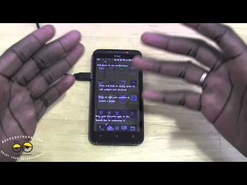 How to upgrade the HTC EVO 4G LTE to Android 4.1.1 & Sense 4+