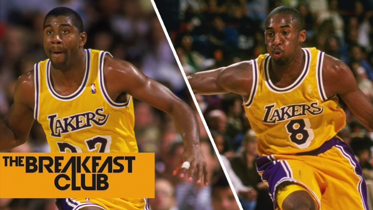 Magic Johnson Call On Kobe Bryant To Help With The Lakers