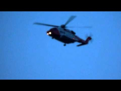 Irish Coastguard Rescue Helicopter // Suicide Mission /December 2015