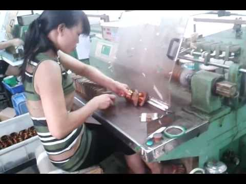 DLM0866 Coil Winding Machineavi  YouTube