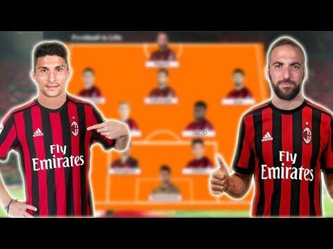 Ac Milan Potential Lineup 2018/2019 With Higuain , Caldara