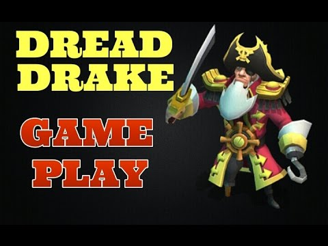Castle Clash Dread Drake Gameplay! WOW!