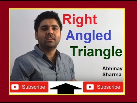 Right Angled Triangle Geometry Part 19 - By Abhinay Sharma (Abhinay Maths)