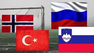 Прогнозы на футбол РОССИЯ СЛОВЕНИЯ НОРВЕГИЯ ТУРЦИЯ прогноз 27 03 2021 ставки ставки на футбол