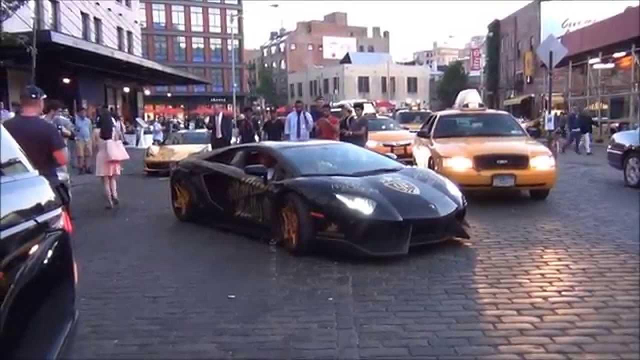 black and gold lamborghini lp700 4 aventador - Lamborghini Aventador Gold And Black