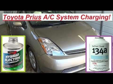 Toyota Prius A C Charging How To Charge Air Conditioner On 2004 2009