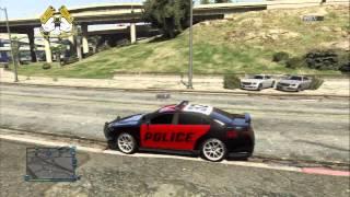 GTA 5 - Cops Vs trafiquant  - Film Les Impitoyable.   (ps3)