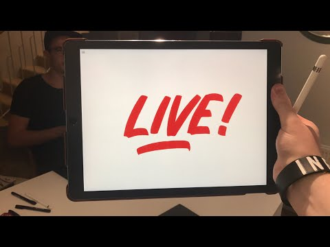 LIVE Lettering In Iceland!?  Come join!