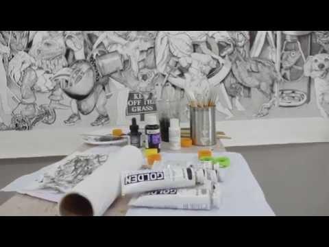 Inside an artist&39;s studio Brett Neal
