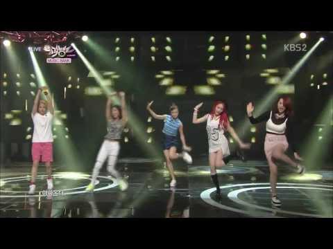 [HD] F(x) - Rum Pum Pum Pum @ Music Bank (August 2, 2013)