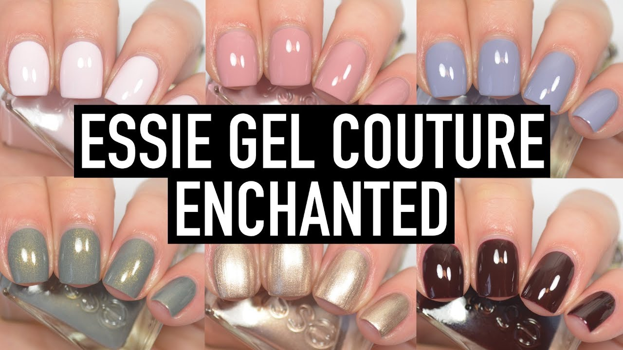Essie Gel Couture - Enchanted | Swatch & Review - YouTube