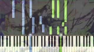 [Hyouka] ED Madoromi no Yakusoku Piano Synthesia Tutorial