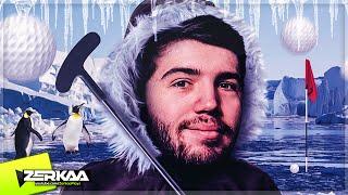BEST MINIGOLF SCORE ON ICE?! (Tower Unite Minigolf)