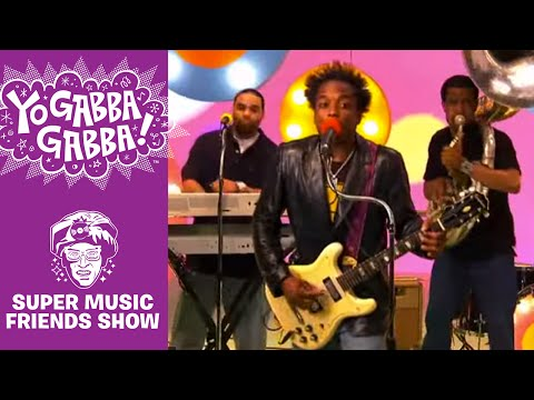 The Roots - Lovely, Love My Family - Yo Gabba Gabba!