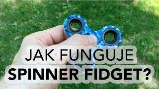 Jak funguje SPINNER FIDGET?