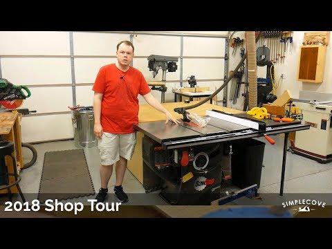 2018 Shop Tour   Woodworking Shop Tour
