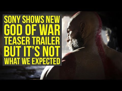 Sony Shows New God Of War Teaser That Looked Like God of War 5, But Is Something Else