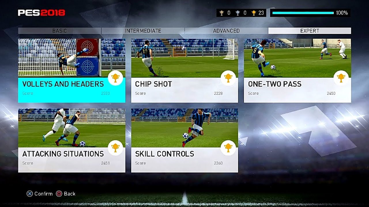 Image result for Mode Skills Training PES 2018 PRO EVOLUTION SOCCER