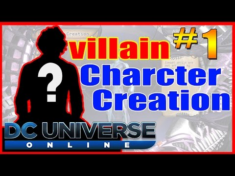 DC universe online Character Creation *Most EVIL Villain EVER!!* - Atomic Mentor Circe
