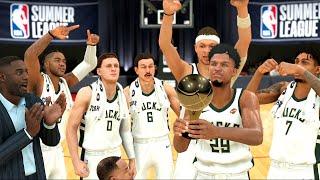 NBA 2K20 MyCAREER - NBA SUMMER LEAGUE CHAMPIONSHIP! [ EP.5 ]