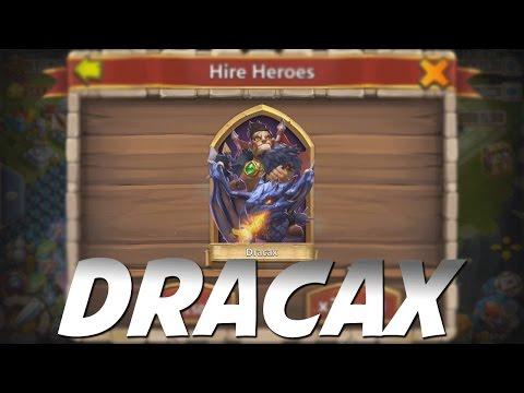 Castle Clash Unbelievable Rolling For Dracax!
