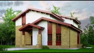 Проект умного пассивного дома в стиле Шале