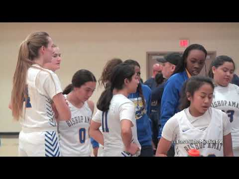 Cantwell Sacred Heart of Mary at Bishop Amat Lancers Girls Basketball (Full Game)
