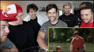 REACTING TO MY MOST CRINGEY VIDEOS! Ft DAVID! JASON! JONAH! HEATH! SCOTTY!