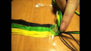 Плетение фенечек: Видео урок #7