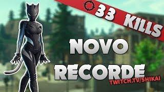 33 KILLS NOVO RECORD?! | 🏆 Fortnite Battle Royale - Shikai