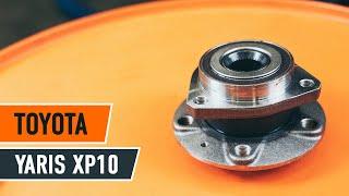 Jak vyměnit ložisko zadního kola na TOYOTA YARIS XP10 NÁVOD | AUTODOC