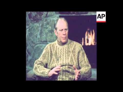 SYND 2-1-74 INTERVIEW WITH AMERICAN VICE PRESIDENT GERALD FORD