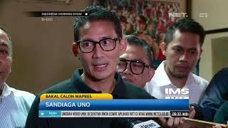 Download Video Sandiaga Uno Tunjuk Gatot Nurmantyo Jadi Tim Sukses Dirinya MP3 3GP MP4