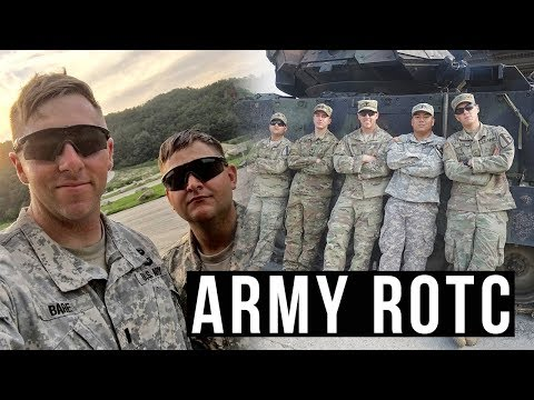 From Army ROTC To Infantry Officer | My Experience