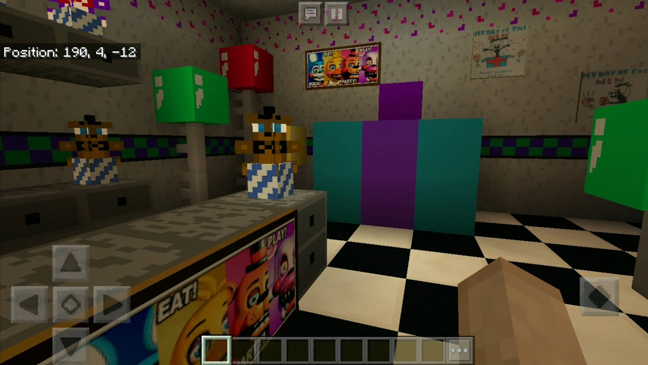 FNAF 2 Re-Creation MCPE map  - All for Minecraft PE game