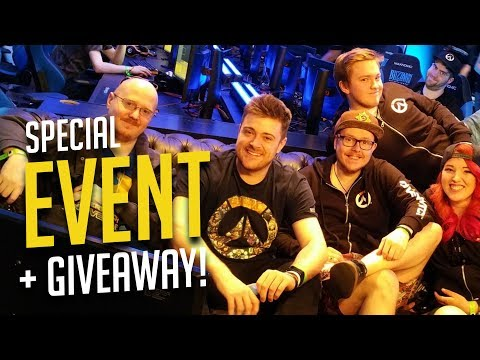 Overwatch Anniversary LIVE SPECIAL EVENT! + GIVEAWAYS!