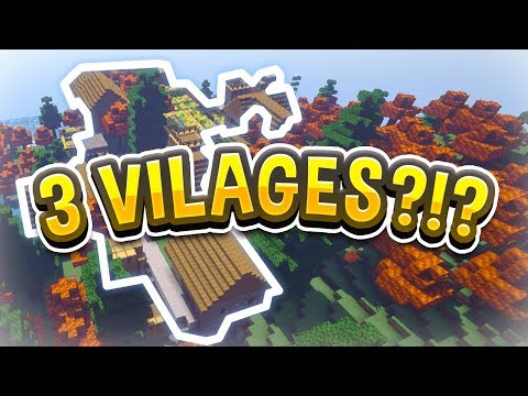 3 VILLAGES!! - Minecraft Biomes O' Plenty Ultra Hardcore Survival! (#1)
