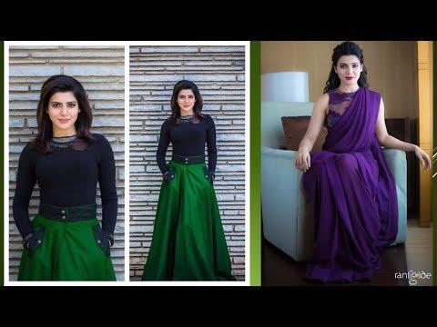 Samantha's Bollywood Fashion 2018