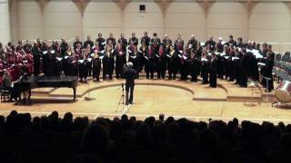 Eric Whitacre conducts at chor.com 2011: WITH A LILY IN YOUR HAND (Junges Vokalensemble Hannover)