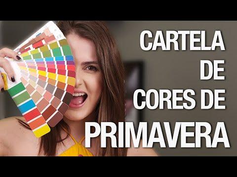 Cartelas de Primavera: como combinar as cores? | Análise de Coloração